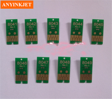 Hot sale for Ep SC P6000 P7000 P8000 P9000 cartridge one time chip chips number 6 to 8  type