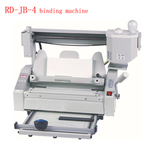 Hot melt glue binding machine Desktop glue books binding machine glue book binder machine 110V/220V RD-JB-4