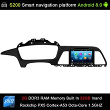 Android 8.0 system PX5 Octa 8-Core CPU 2G Ram 32GB Rom Car DVD Radio GPS Navigation for Hyundai Sonata 2016-2018