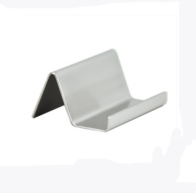 Modern Stainless Steel Business Card Holder Name Card Holders Note