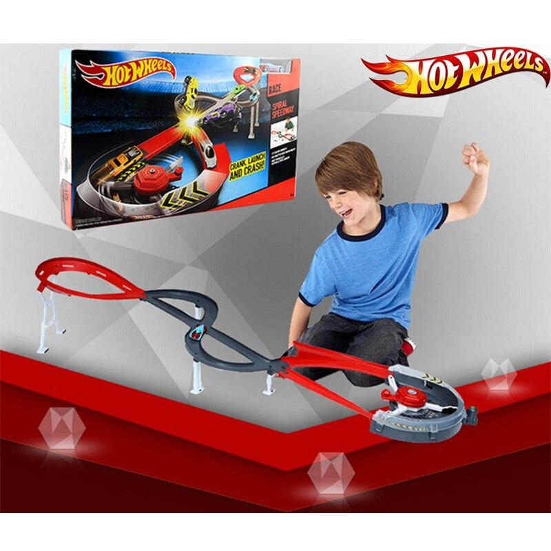 Roues chaudes survêtement en plastique Matel Miniatures voiture piste grande taille Hotwheels jouet modèle X2589 piste classique pour cadeau d'anniversaire-in Jouets véhicules from Jeux et loisirs    2