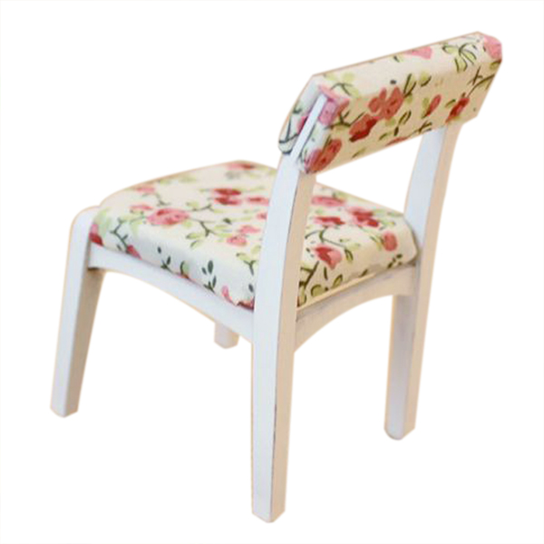 Home 1/12 Dollhouse Miniature Wooden Upholstered Desk Chair Suitable For Men And Women Of All Ages In All Seasons