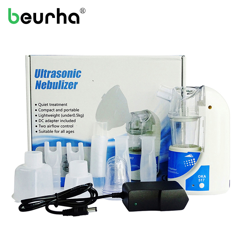 Household Health Inhaler Medical Nebulizer Ultrasonic Atomization Health Home Medical Treatment Device Sprayer Steaming Device healthcare gynecological multifunction treat for cervical erosion private health women laser device