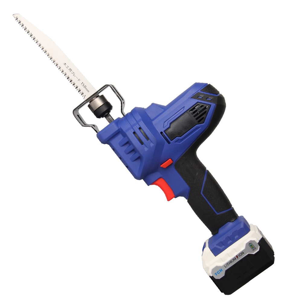 Electric Saber Saw Reciprocating Saw with 16V lithium battery for cutting wood branch and other wood все цены