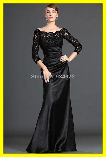 Vestidos noche para la boda Formal largo con chaquetas negro vestido ...