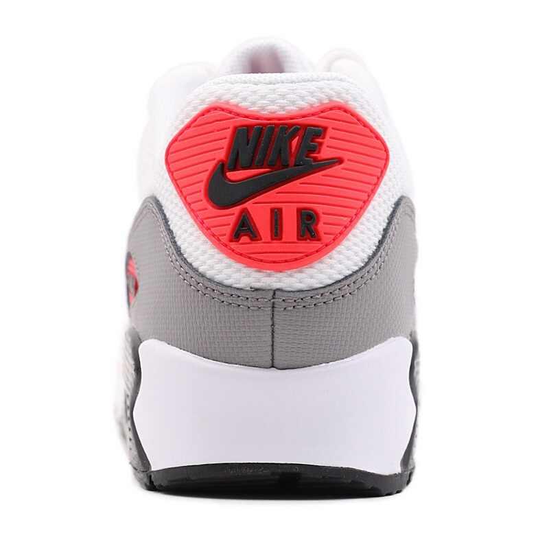 Оригинальный Nike Оригинальные кроссовки AIR MAX 90 LE Для женщин кроссовки из сетчатого материала дышащие мягкие удобные хорошее качество кроссовки 325213-132