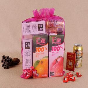 Image 5 - 100 pcs/lot 20x30, 25x35, 30x40, 35x50cm grande taille grands sacs en Organza pochettes à cordon pour noël mariage cadeau emballage sac