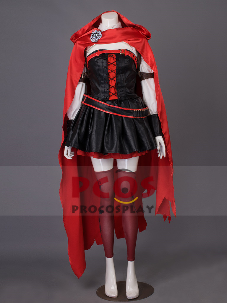Rwby Vol 4 Season 4 Ruby Rose Cosplay Costume Outfits
