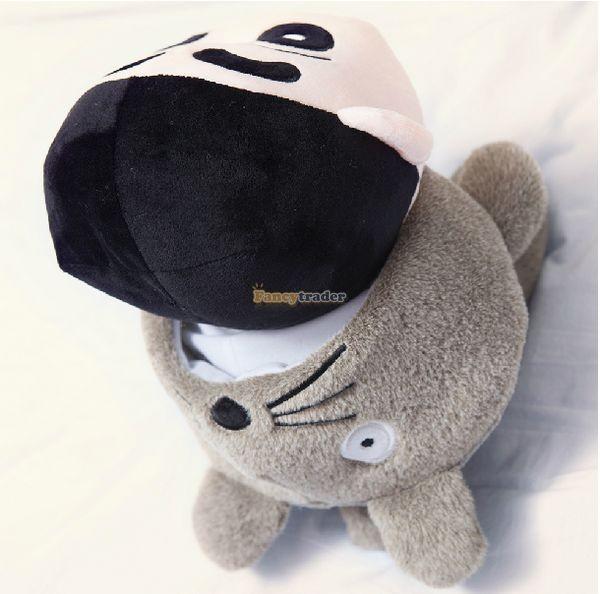 Fancytrader 31\'\' 78cm Giant  Funny Stuffed Soft Plush Totoro Crayon Shin-chan, Free Shipping FT50395 (4)