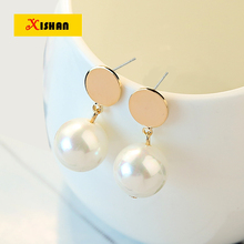 Hot Sale Fashion Simulated Pearl Stud Earrings For Party Wedding Gift Statement Jewelry Accessories Pendant Pearl Earring