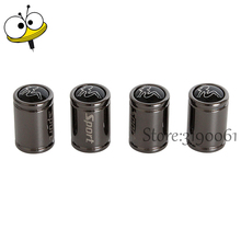 Car Styling Accessories 4 Pcs/set Tire Valve Caps Metal For Beauty Logo For Peugeot Renault Cadillac Chevrolet Dodge Opel Buick
