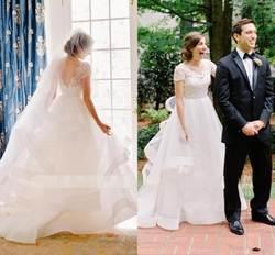 Бальное свадебное платье 2019