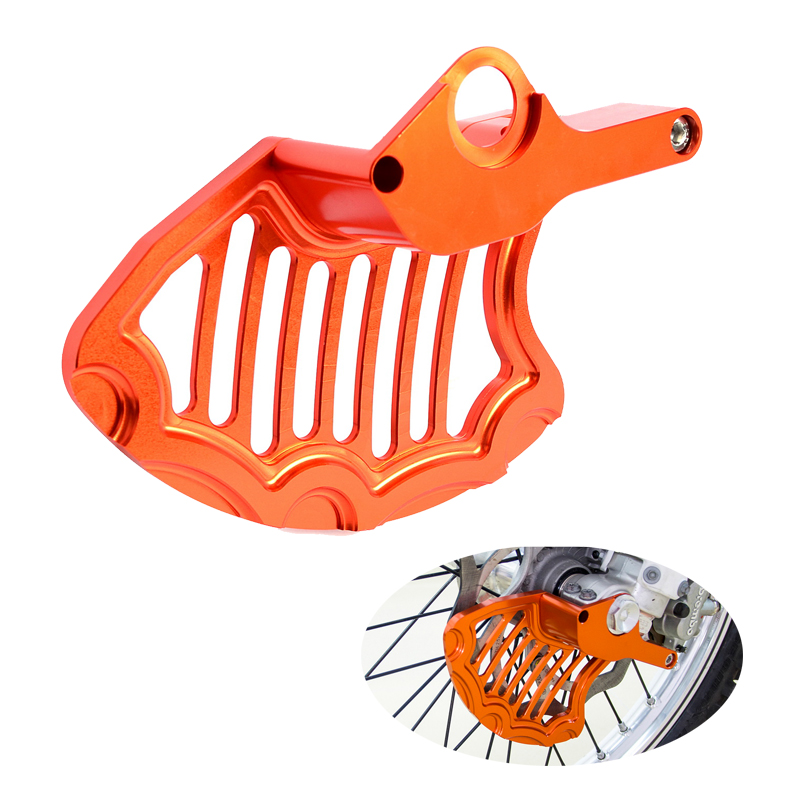 Front Brake Disc Guard Protector For KTM 125 150 200 250 300 350 400 450 500 EXC EXCF SXF SX XC XCF XCW XCFW 2016 2017 2018 2019