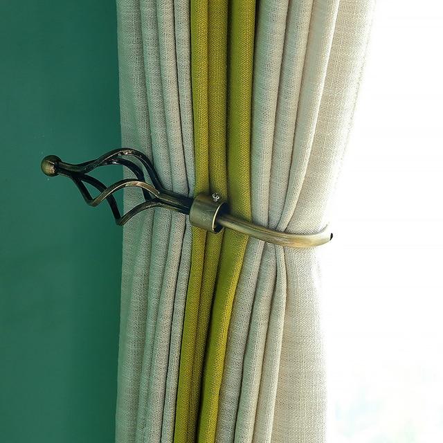 European Fashion Hollow Engraving Curtain Wall Hooks Curtain Hooks Bead Curtain  Curtains Clamp Home Deco Accessories