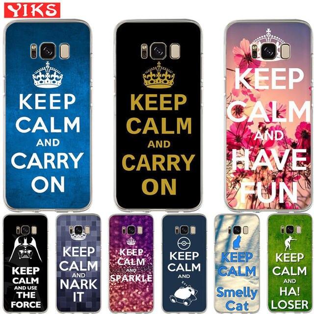 coque samsung s8 plus keep calm