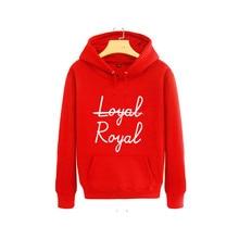 Bangtan7 Taehyung (V) Loyal-Royal Hoodie