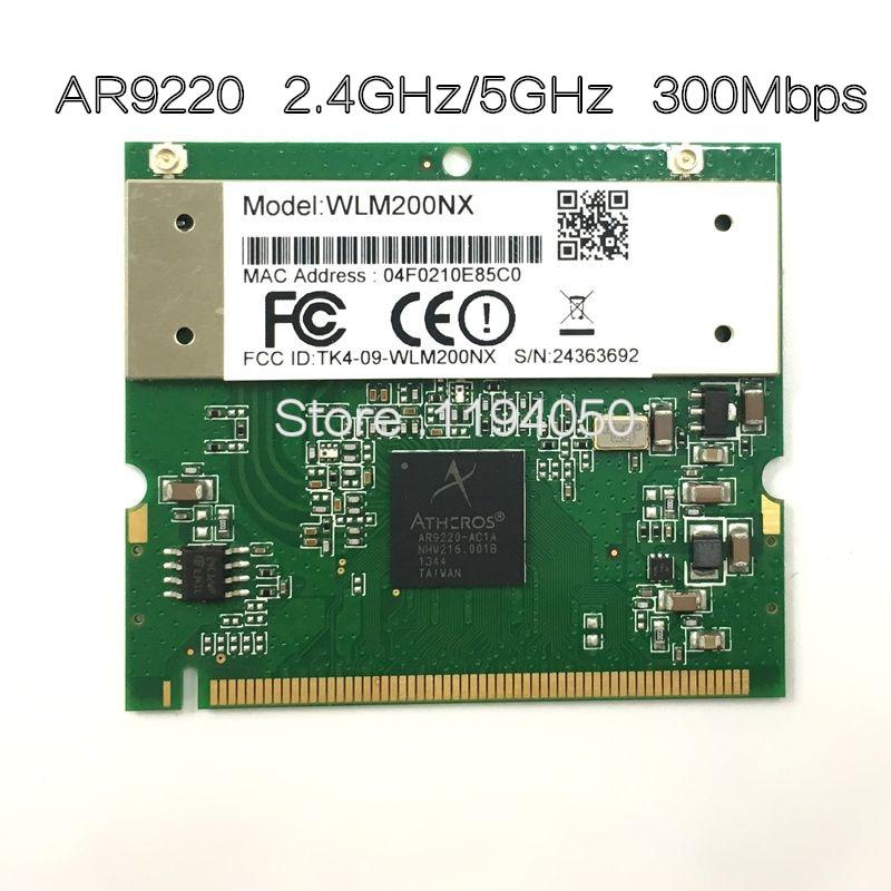 Atheros AR9220 Compex WLM200NX 802.11a/b/g/n Double Bande 2.4/5 ghz 300 Mbps WiFi sans fil Carte