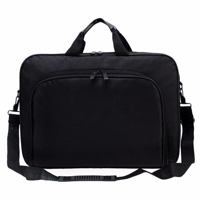 새로운 휴대용 비즈니스 핸드백 어깨 노트북 노트북 가방 케이스 다기능 남성 여성 내구성