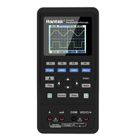 Hantek 3in1 Digital Handheld Oscilloscope+Waveform Generator+Multimeter Portable USB 2 Channels 40mhz 70mhz Test Meter Tools