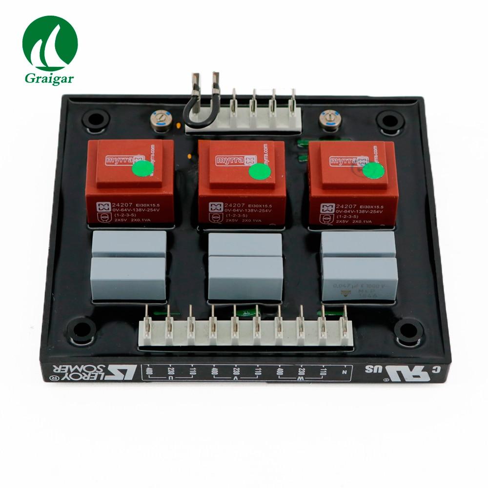 New Original Generator AVR Leroy Somer R731 Automatic Voltage ... on