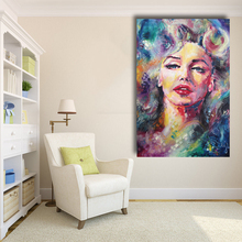 Marilyn Monroe Oil Painting Abstract Modern Wall Canvas Art for Living Room Home Decor No Framed