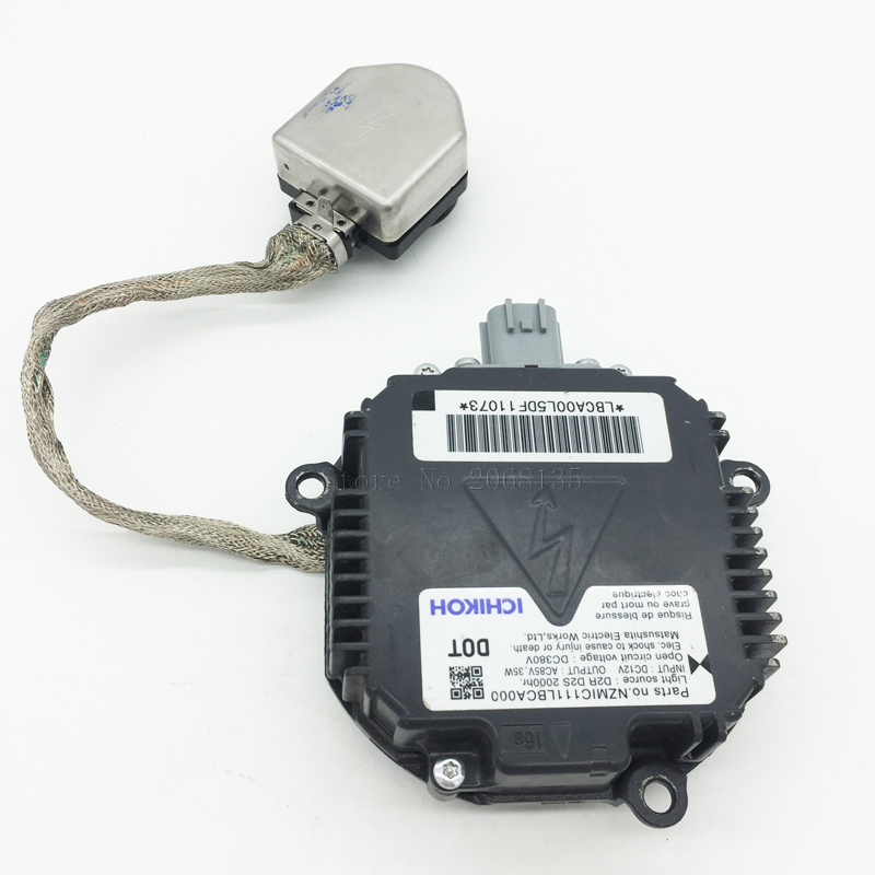Original NZM1C111LBCA000 D2S D2R For Nissan Honda Mazda Infiniti Subaru WRX Impreza STi Xenon Ballast Box Control Unit HID car light accessories amp d2s d2c d2r hid xenon cable adaptor socket for d2 d4 d4s d4r xenon hid headlight relay wiring harness