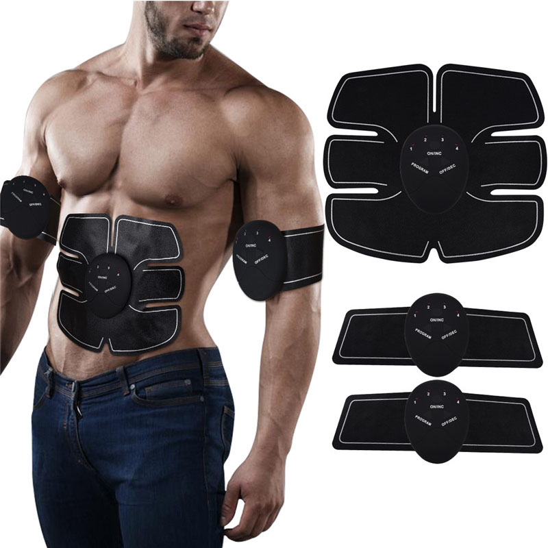 Abdominal Muscle Trainer Electronic Belly Arm Leg Muscle Trainer Fitness Toner Abdomen Exercise Simulator Toning Training GearsAbdominal Muscle Trainer Electronic Belly Arm Leg Muscle Trainer Fitness Toner Abdomen Exercise Simulator Toning Training Gears