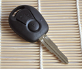 High quality free shipping For Ssang Yong Remote car Key Shell case cover for 3 Button