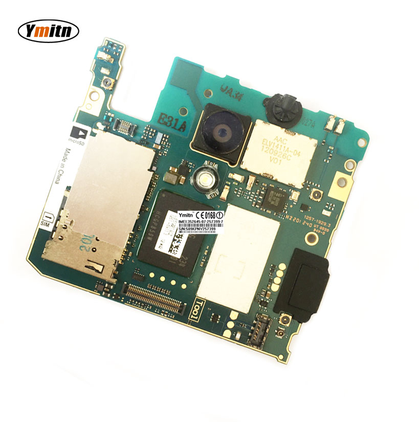 Ymitn Débloqué Mobile Électronique panneau carte mère Carte Mère Circuits Flex Câble Pour Sony Xperia LT30 LT30i LT30p