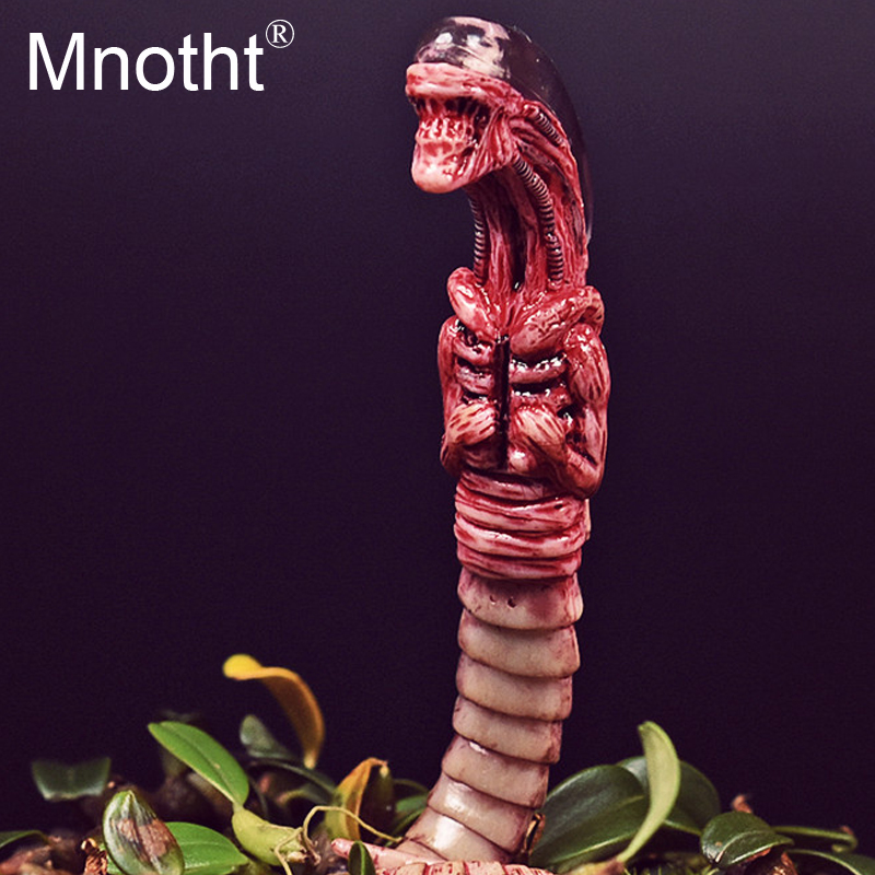 Mnotht 1/6 FG027 Alien chestburster model Iron blood Warrior Special-shaped contract Scene props for 12 Action Figure