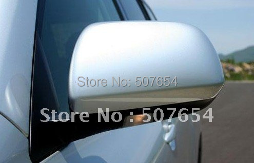 Free shipping! Higher star ABS chrome 2pcs car side Door Mirror decoration protection Cover for TOYOTA HIGHLANDER