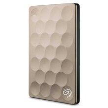 Seagate Backup Plus Ultra Slim 1TB 2TB Portable HDD External Hard Drive USB 3.0 Platinum 9.6mm Original for Laptop Desktop