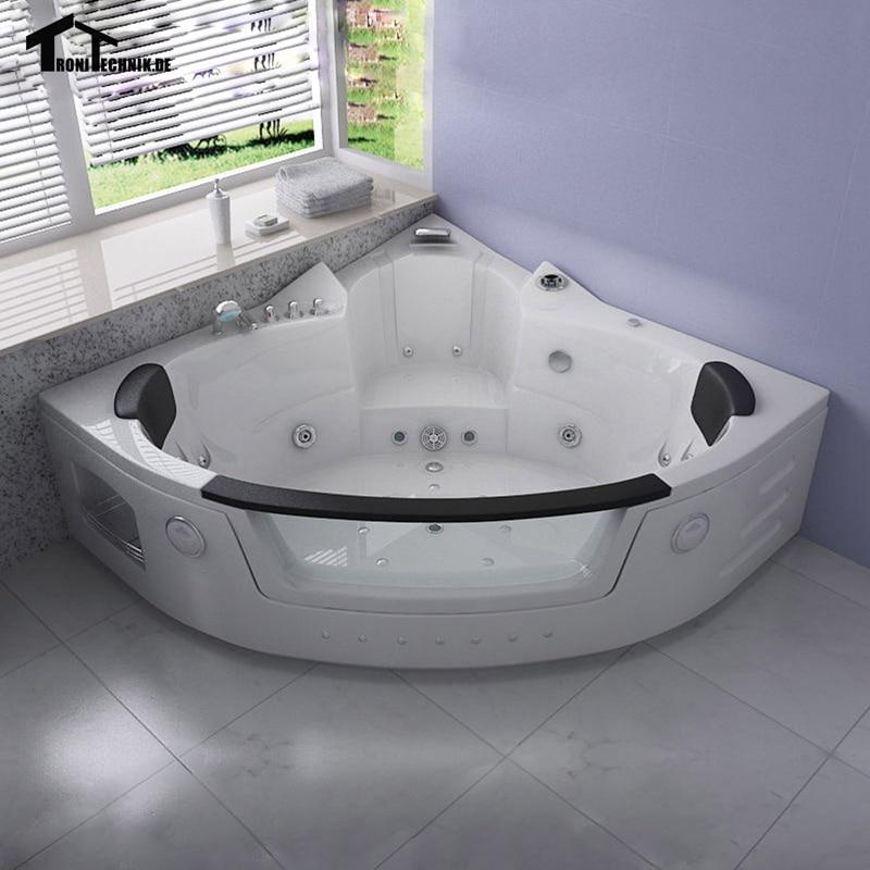 1350mm Whirlpool Bathtub AIR Massage Acrylic 2 person Hot tub Wall Corner  GlassTriangular Hydro massage Tub Shower Spa 6148MOnline Get Cheap Person Hot Tub  Aliexpress com   Alibaba Group. 2 Person Corner Hot Tub. Home Design Ideas