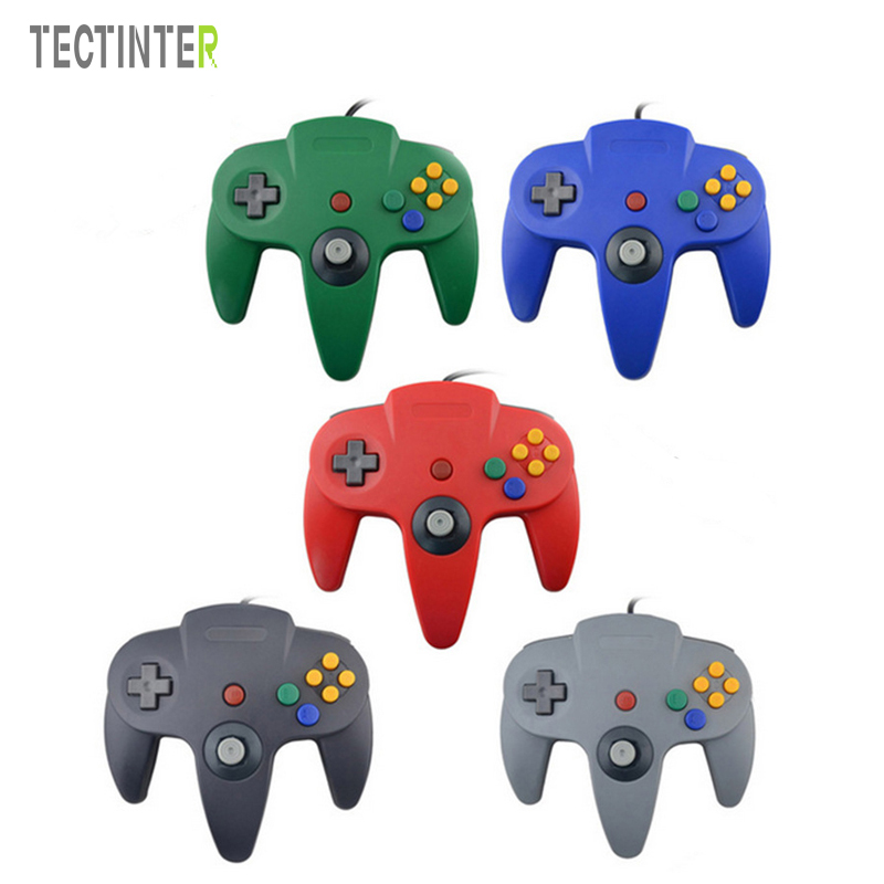 For N64 Wired USB Controller Joystick For Gamecube Controle For N64 64 PC Gamepad For Mac Gaming Joypad