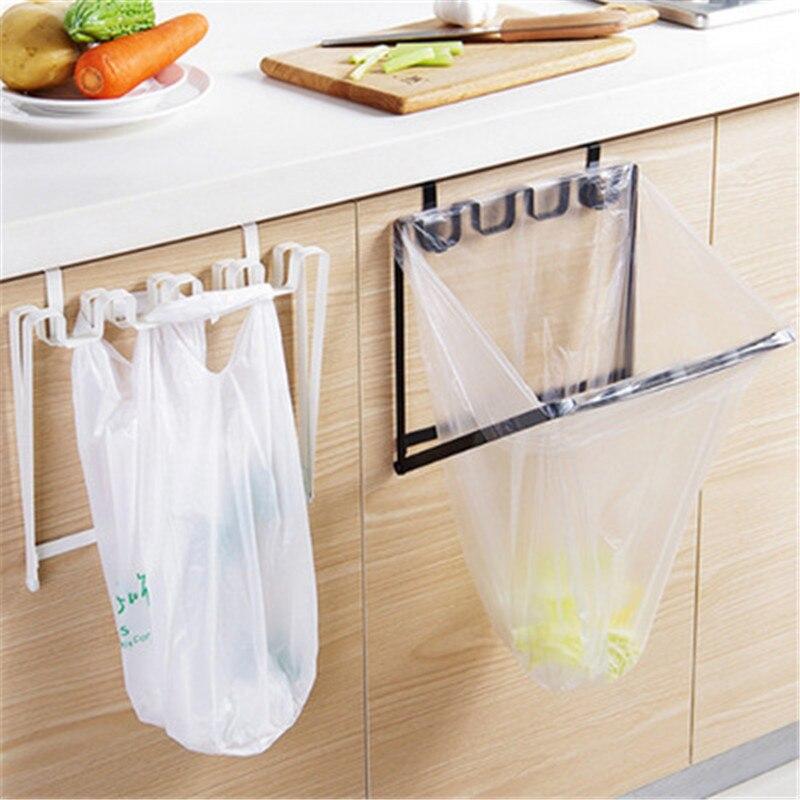Trash Bag Lagerung Müll Tasche Halter Schrank Schrank Küche Werkzeuge Tür  Zurück Hängen Wirtschafts Lagerung Küche Zubehör