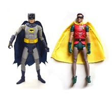 "DC Universe Batman Classics 1966 serial telewizyjny Batman Robin 6 ""luźna figurka"