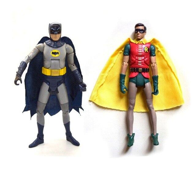 """Dc universo batman clássicos 1966 séries de tv batman robin 6 """"figura de ação solta"""