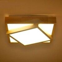 Мода и личность в японском стиле в простом стиле потолочные светильники большой потолок балконе спальня столовой квадратный ZA MZ23