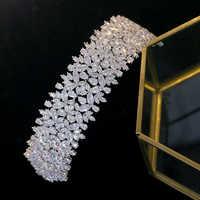 ASNORA Luxury vintage barocco di trasporto della ragazza copricapo da sposa accessori per capelli gioielli da sposa gioielli della corona di regalo