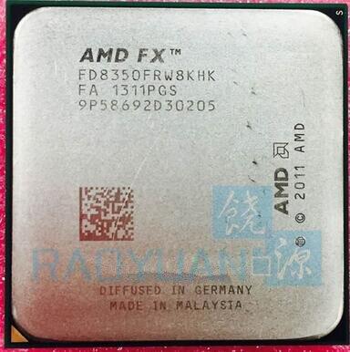 AMD FX-סדרת FX-8350 FX8350 4.0G 125 W FX 8350 FD8350FRW8KHK שמונה CORE שקע AM3 +