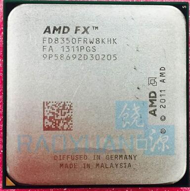 FX8350 FX-8350 AMD FX-Series 4.0 גרם 125 W FX 8350 FD8350FRW8KHK שמונה CORE Socket AM3 +