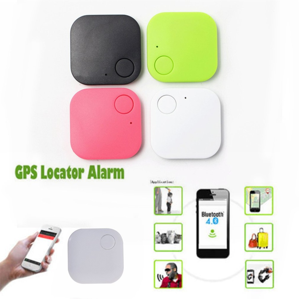 Bluetooth Anti-lost Device Anti-Lost Theft Device Alarm Bluetooth Remote GPS Tracker Child Pet Bag Wallet Key Search Finder