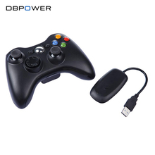 Controlador inalámbrico para xbox 360 juegos bluetooth juego gamepad joystick para microsoft para xbox 360 controle ordenador freeshipping