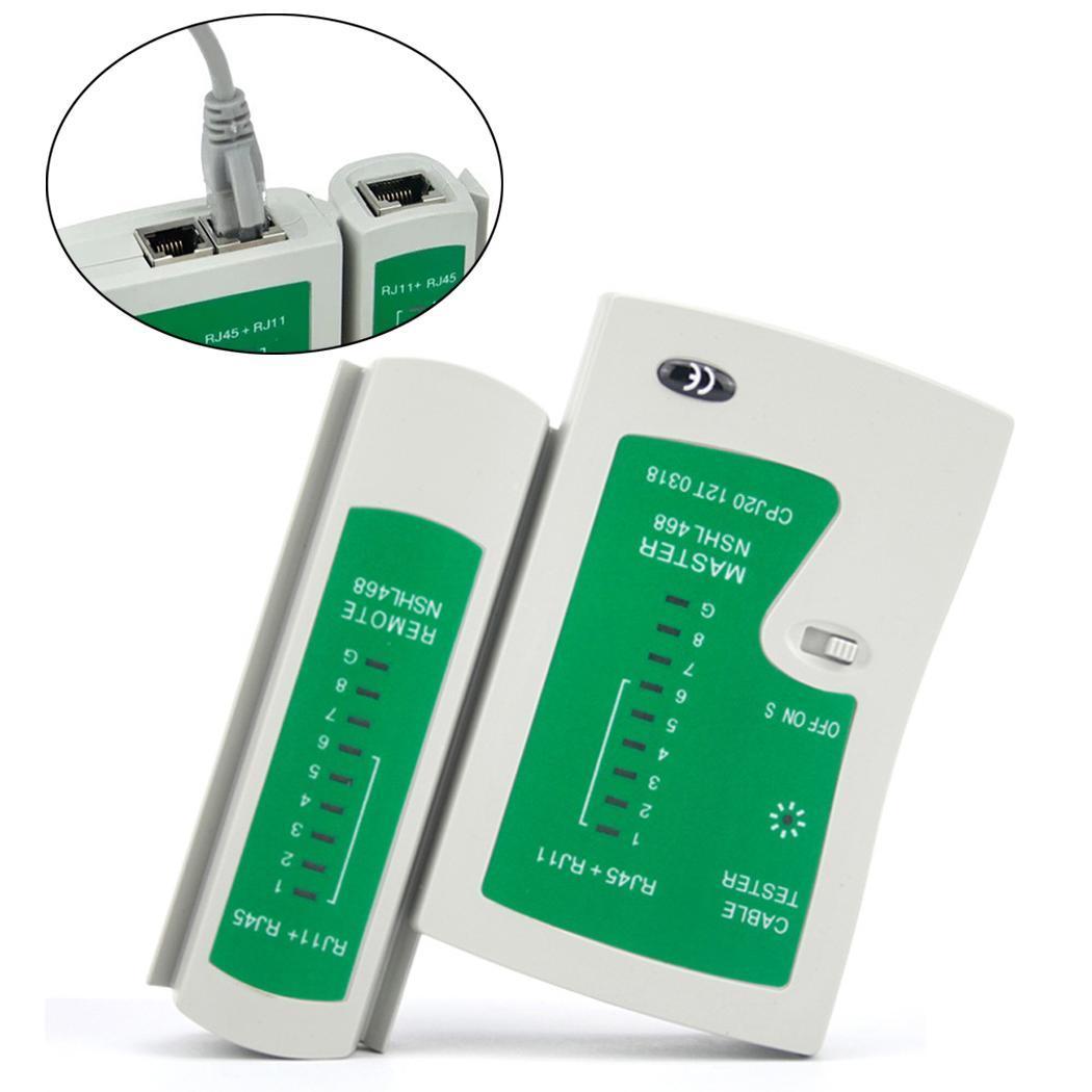Professional Network Cable Tester RJ45 RJ11 RJ12 CAT5 UTP LAN Cable Tester Detector Remote Test Tools Networking Ethernet
