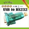 Новый USB 2.0 к 9 Контактный Последовательный RS232 Кабель DB9 Адаптер Конвертер forComputer Аксессуары Кабель, Оптовая Бесплатная Доставка Dropshipping