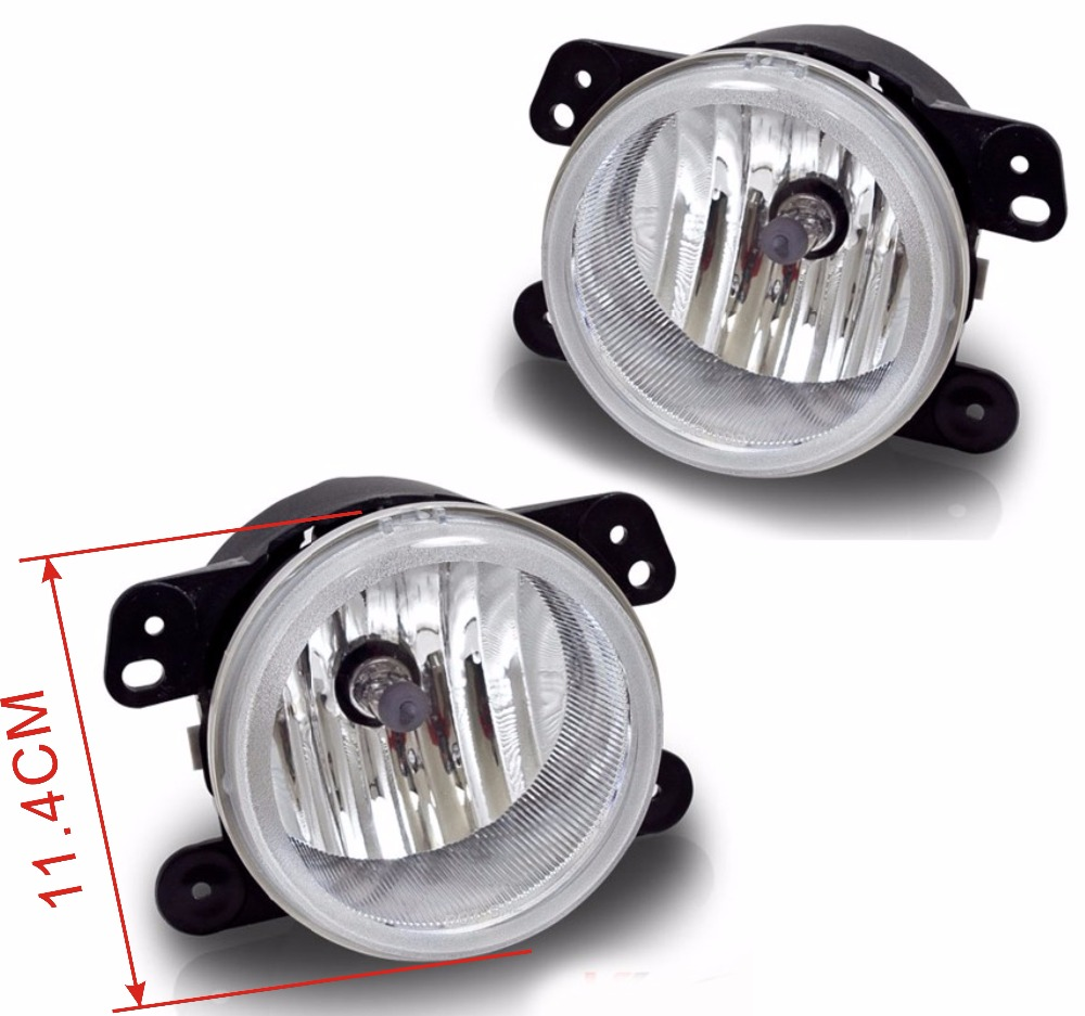 Case for fog light Dodge Journey Magnum fog light with bulbs halogen fog lamp car light