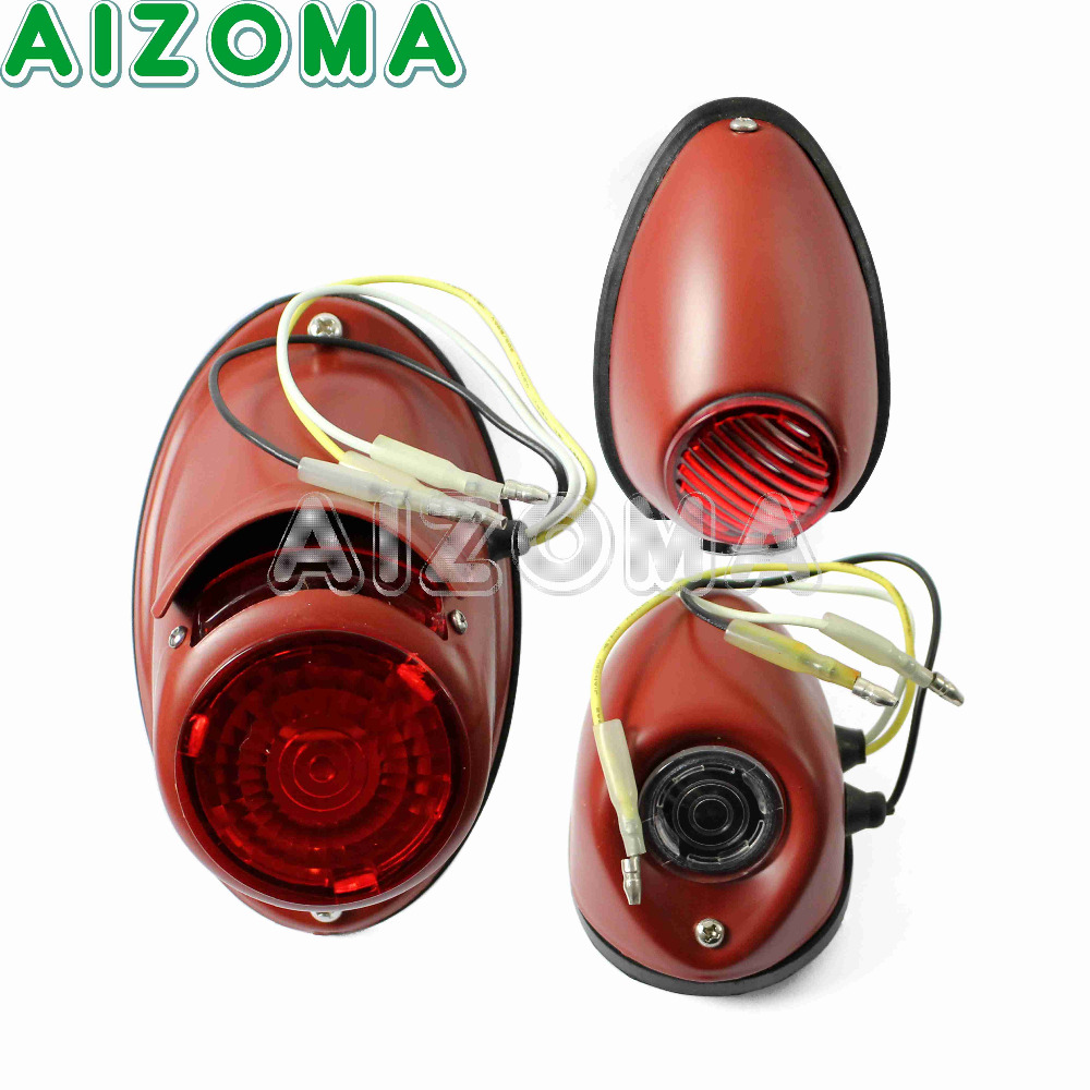 Ural Sidecar Motorcycle Front Rear Taillight Kit 12v Retro Side Lights For BMW M1M M1S M72