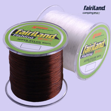 Extreme strong nylon fishing line 500m(547yd) 0.4#,0.6#,0.8#,1#–8# mono line coffee and white color monofilament fishing line