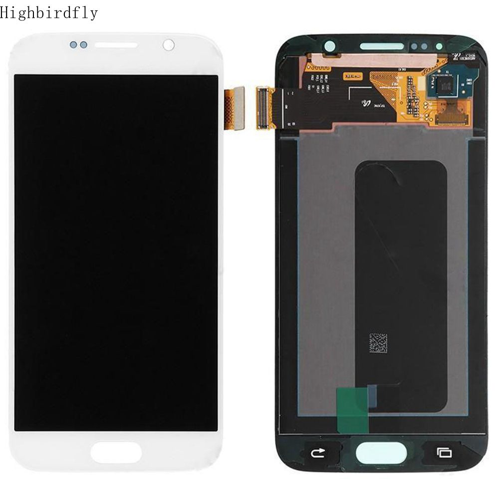 Amoled For <font><b>Samsung</b></font> Galaxy S6 <font><b>G920</b></font> G920F G920FD Lcd Screen <font><b>Display</b></font>+Touch Glass DIgitizer Assembly image