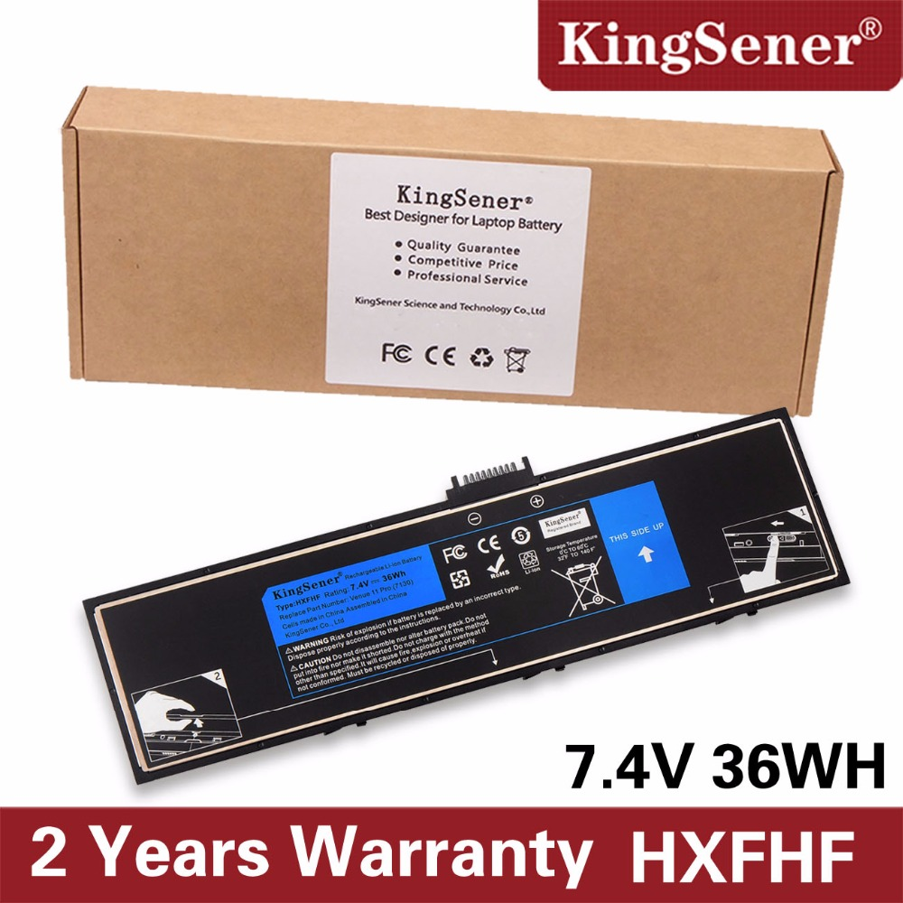 купить KingSener New HXFHF Laptop Battery For Venue 11 Pro (7130) 11 Pro (7139) 11 Pro 7140 HXFHF VJF0X 7.4V 36WH Free 2 Years Warranty по цене 2196.32 рублей